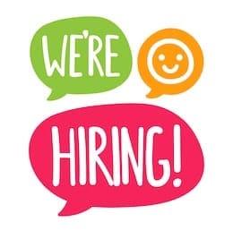 were-hiring-vector-flat-hand-260nw-753354985